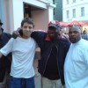 Me, Greg Campbellock and Slick Dogg