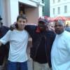 Me, Greg Campbellock and Slick Dogg