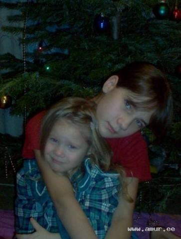 я и маленькая сестра!