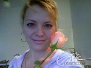Я с розой.