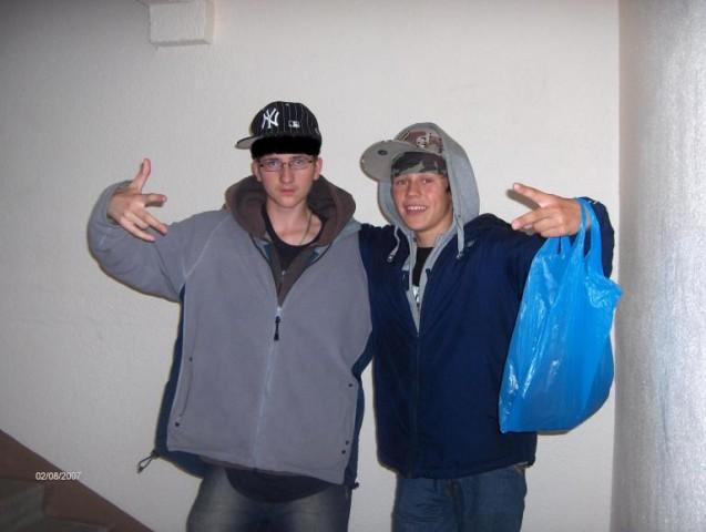 Yo it's me & my friend