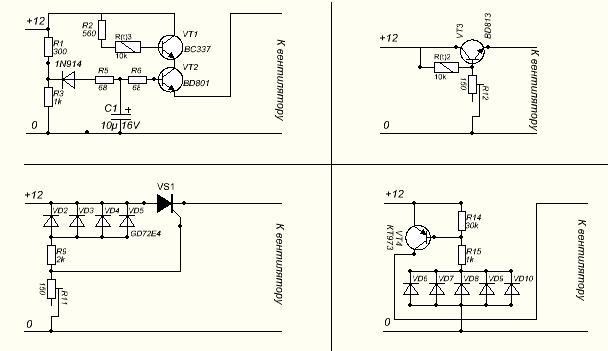 Как уменьшить шум вентиляторов