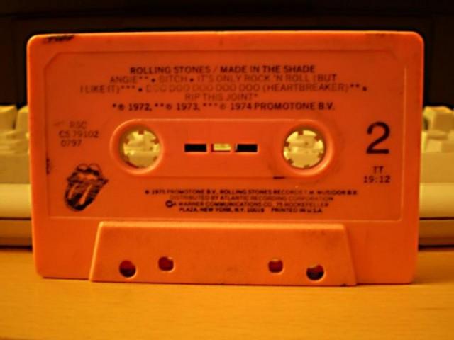 "Компакт кассета ""Rolling Stones"""