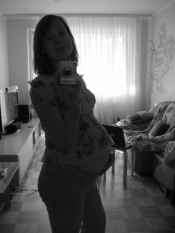 Я беременная