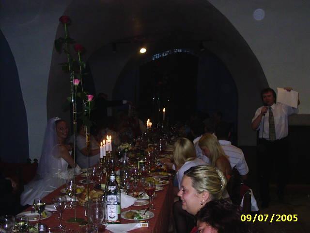 На свадьбе брата