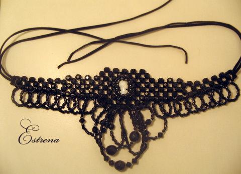Ожерелье в венецианском стиле.