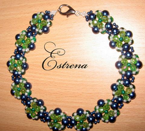 Ожерелье в японской технике.