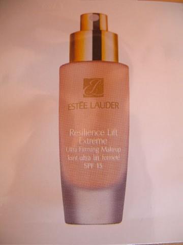 5.Tестеры тонального крема Estee Lauder Resilience Lift Ext