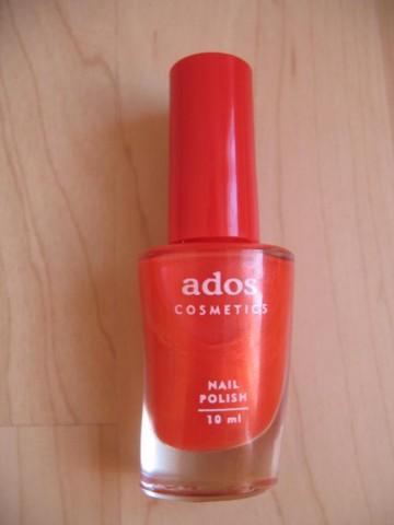 Лак оранжево-красный