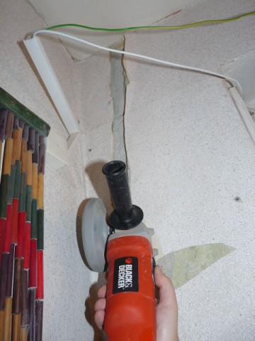 Штробы для кабелей