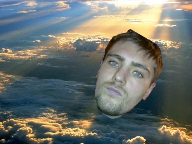 небо и я