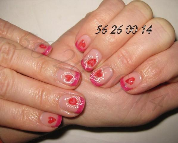 Укрепление ногтей гелем без изменения формы и длины