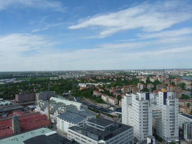 Вид с крыши глобена