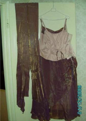 Комплект (юбка, корсет и накидка)