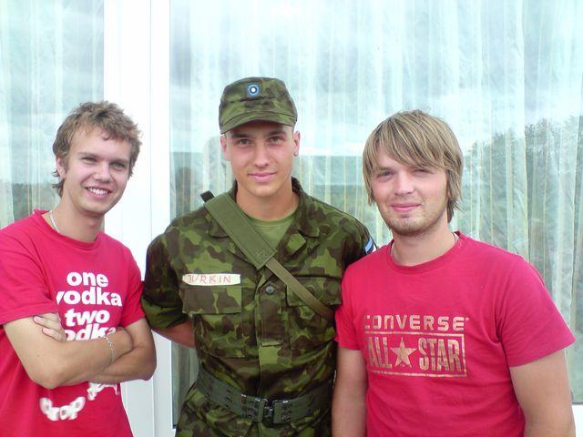В гостях у вояки