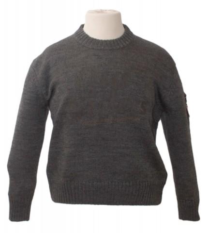 1000809 Boys Pull Knit coft Grey Mel.jpg