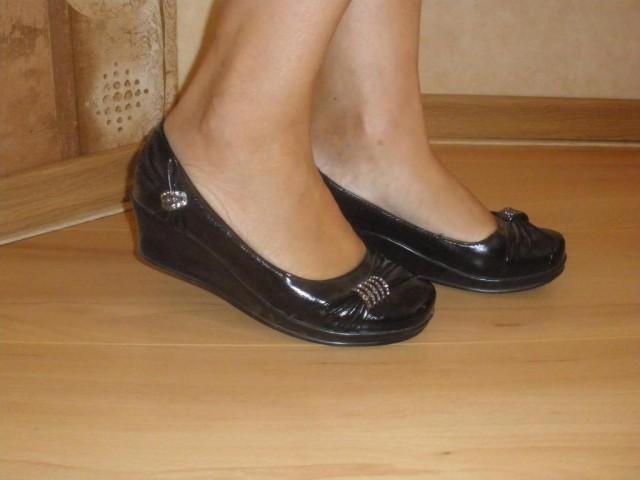 Туфли лакированные, размер 37