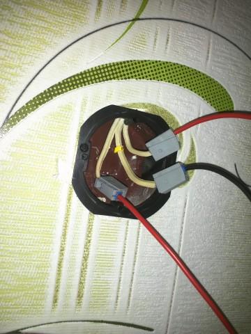 наращивание проводов выключателя
