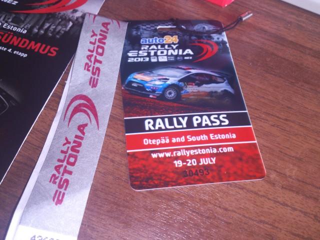 Rally pass