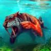 tiger diving By exeshe4ki