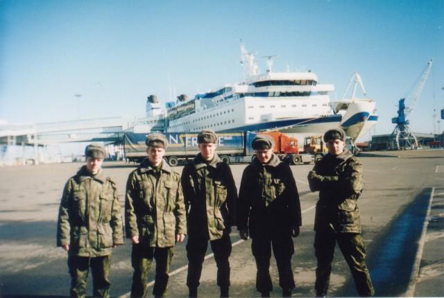 В Таллиннском Порту