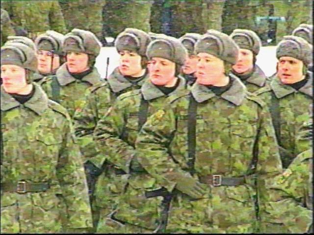 Парад  24.02.2001