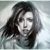 Девушка, освещенная солнцем 2009