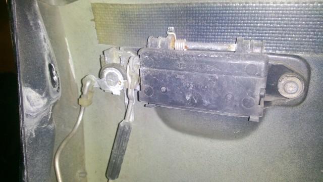 Дверная ручка замка с внутренней стороны