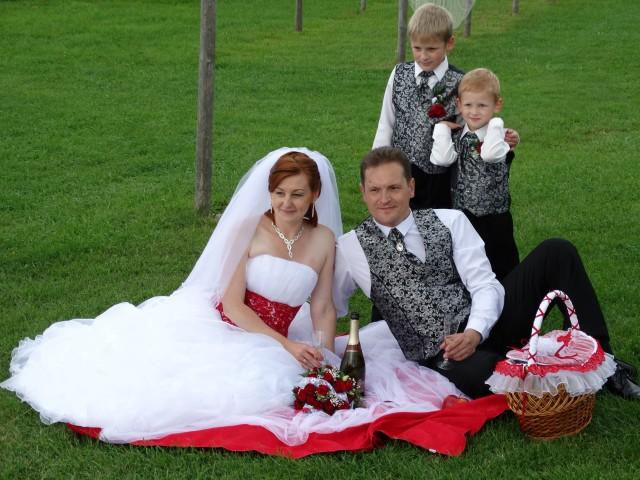 Семейное свадебное фото :)