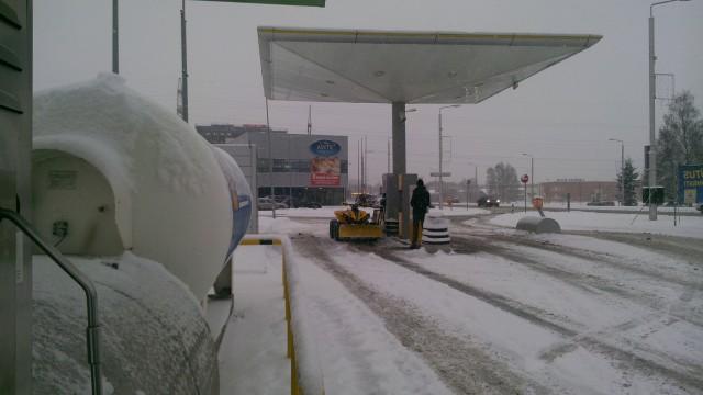 ATV- снегоочиститель