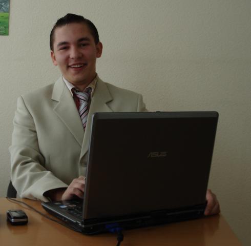 2009 год. В офисе.